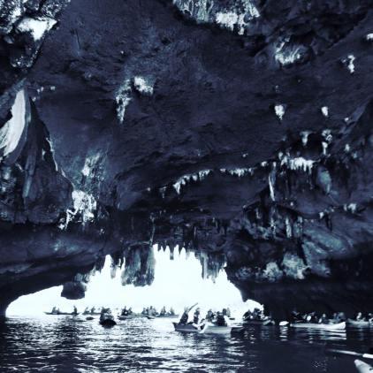 cave james bond