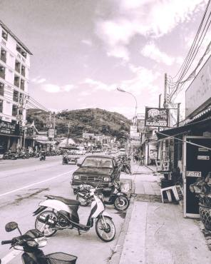 phuket beach street