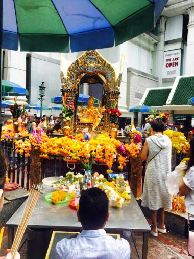 shrine and flowersss