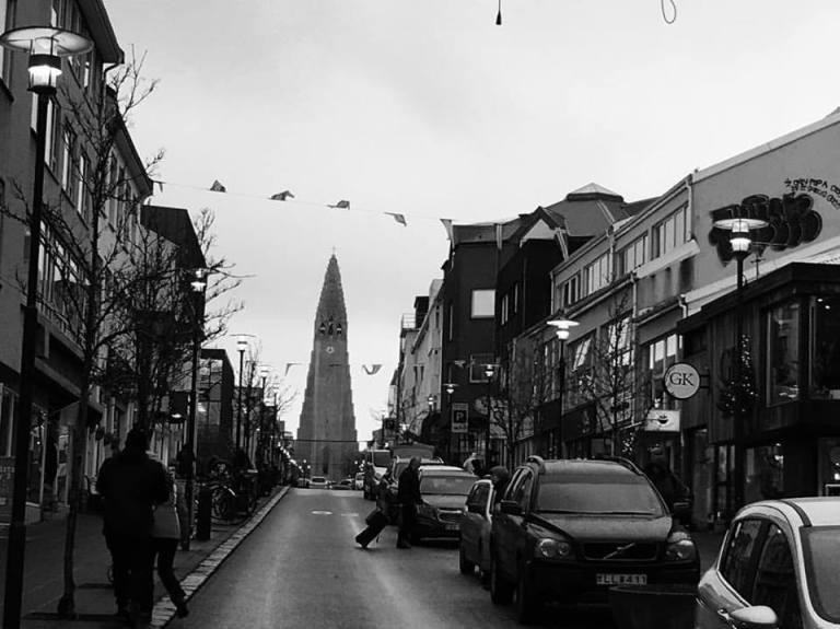 street church view