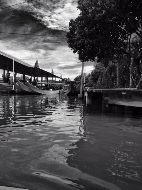 view of floating market